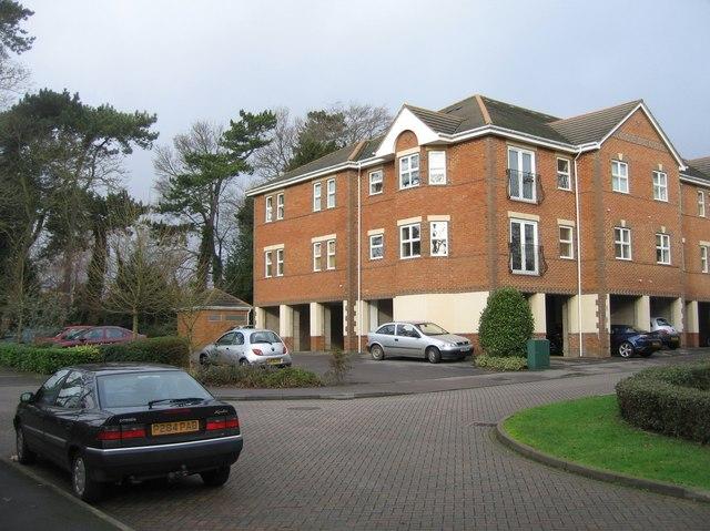 Regent Court apartment block