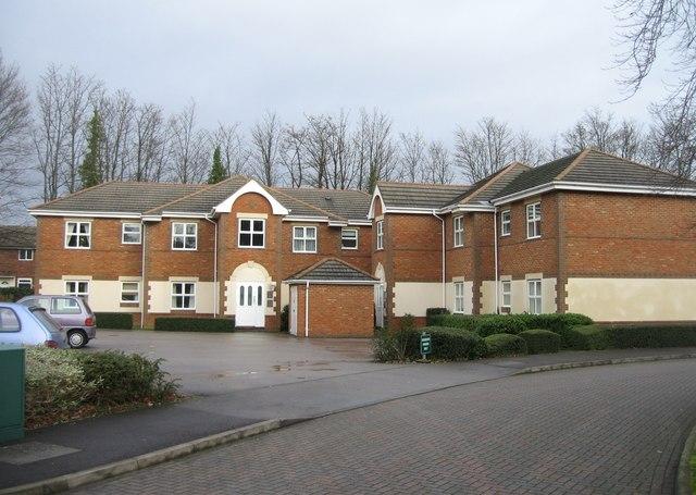 Entrance block - Regent Court