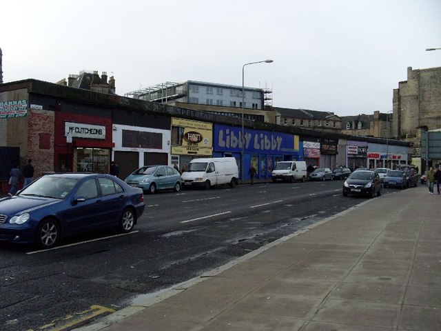 Shops on the Gallowgate