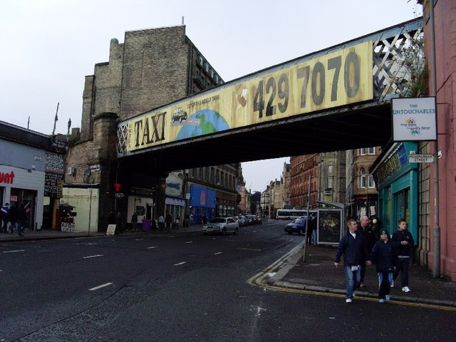 Railway bridge over Gallowgate
