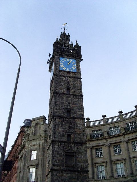 Tolbooth Steeple, Glasgow Cross