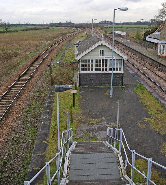 Brocklesby Station - Signal Box