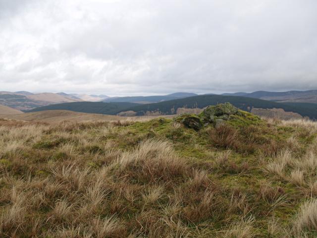 Small outcrop, Craigmaid