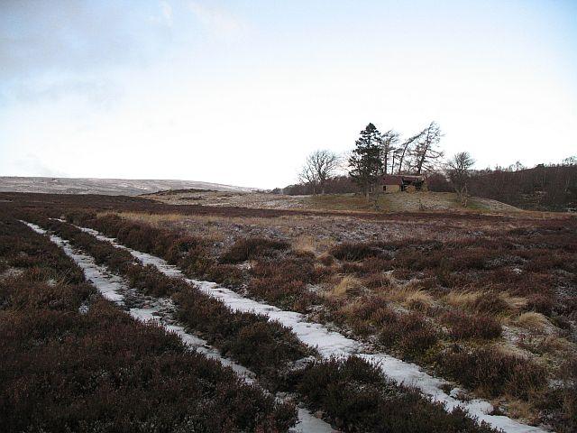 Ruin under Carn an Ailean