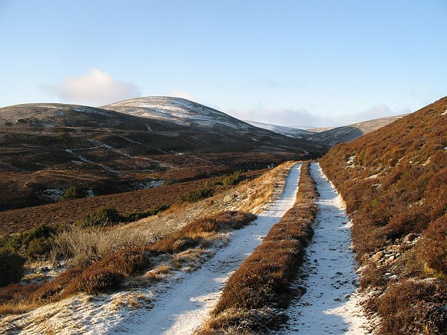 Track beside  An Leth-allt
