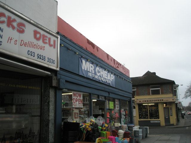 Three contrasting shops