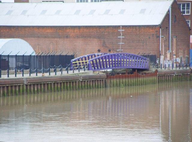 Bridge over Dock Entrance