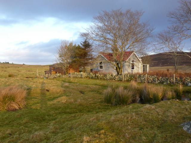 A pretty corrugated cottage near Kinbrace