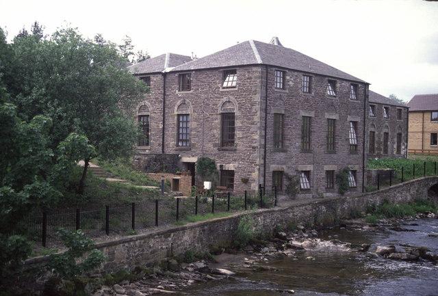 The former Springbank mills, Dunblane