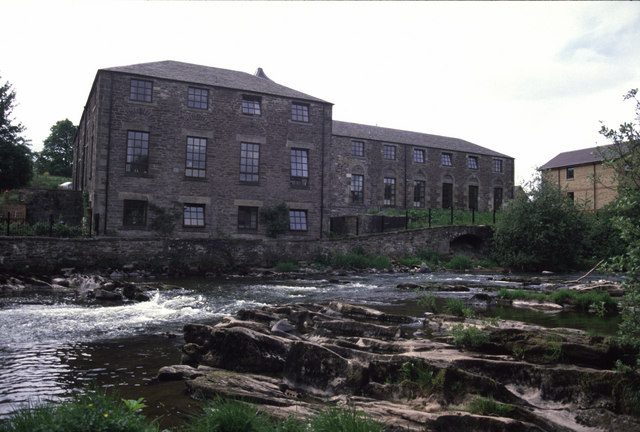 The former Springbank Mills, Dunblane