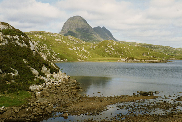 The west end of Fionn Loch