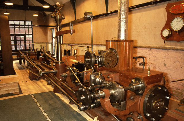 Steam engine, Armley Mills