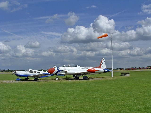 Aircraft at North Weald Airfield, Essex