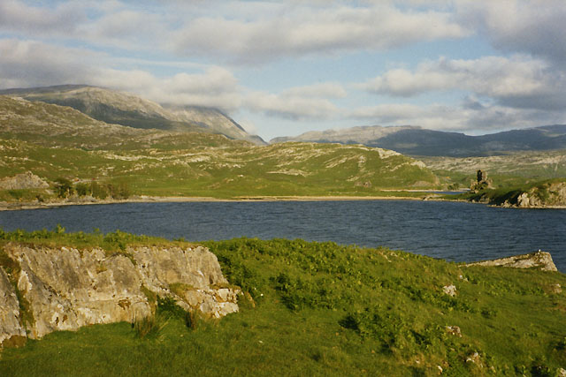 A bay on Loch Assynt