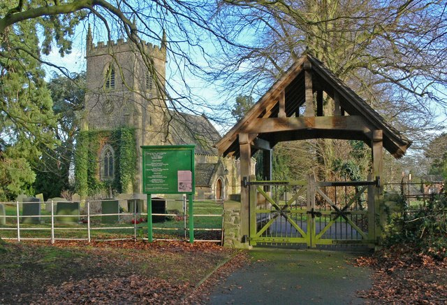 St. Peter's Church and lych gate