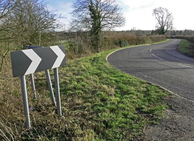Aston Lane towards Sharnford