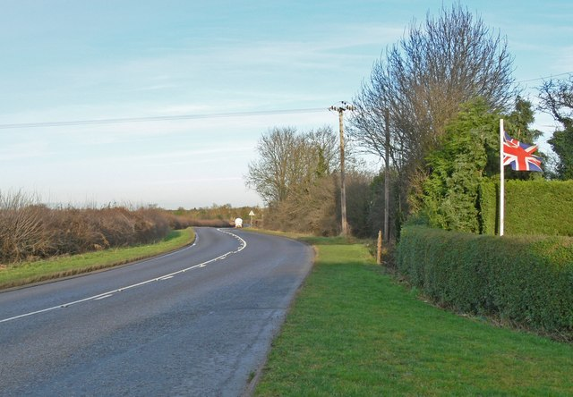 Coventry Road towards Sharnford