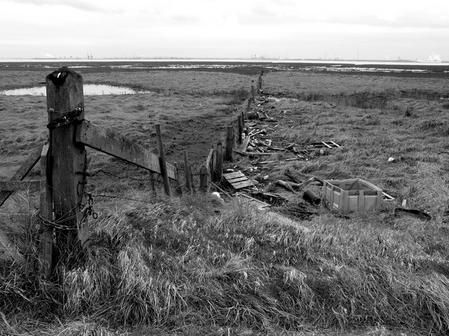 Fence and Rubbish