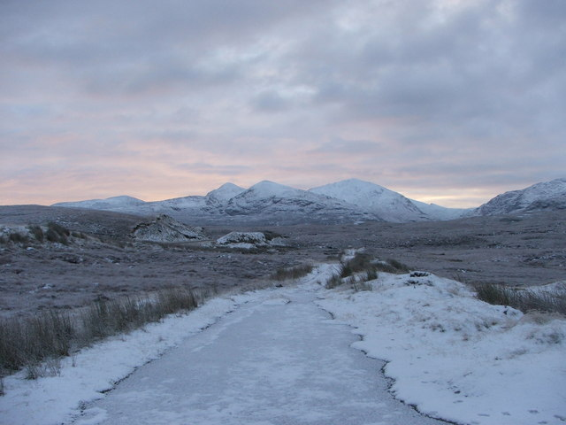 Looking towards Meall an t-Sithe