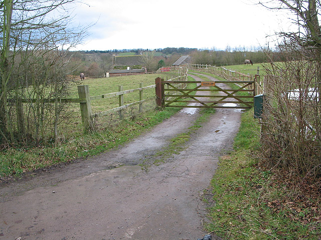 Entrance to stud farm