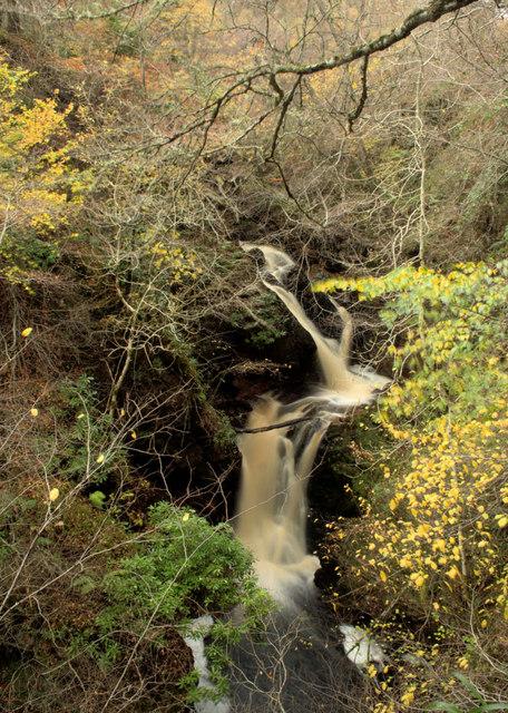 Waterfall on The Big Burn