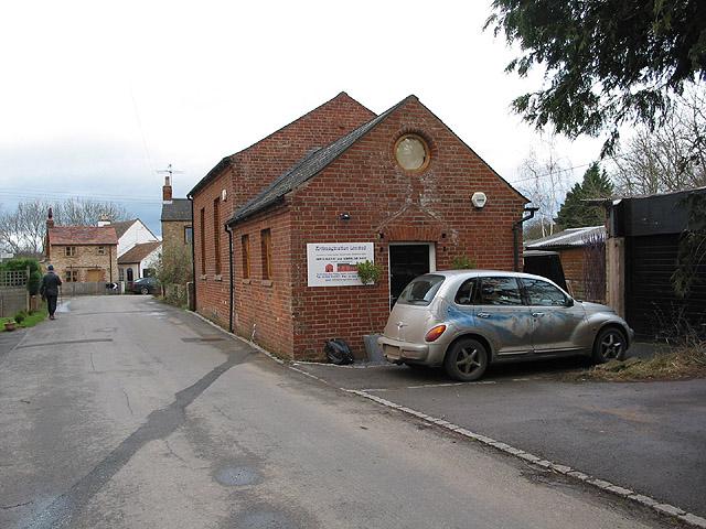 Former chapel, now an art gallery