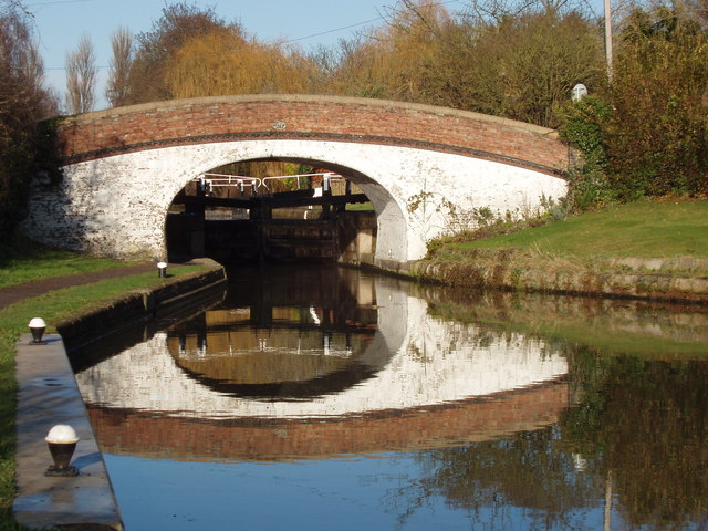 Bridge and Black Jack's Lock, Harefield