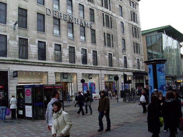 Pedestrian area of Argyle Street
