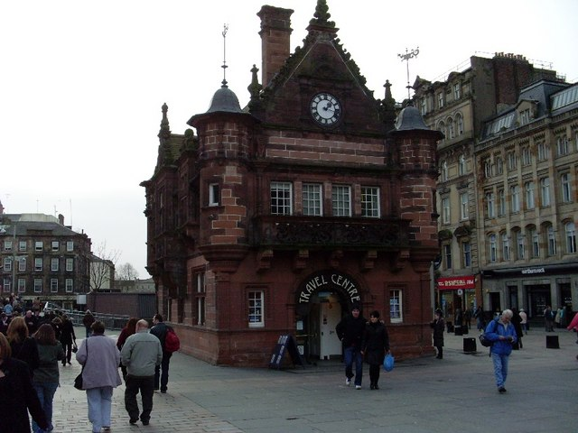 Travel centre, St Enoch Square