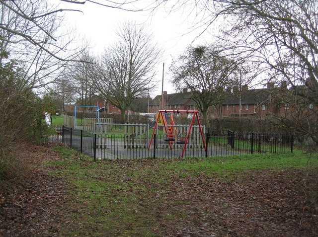 Playground just off Queen Mary Avenue