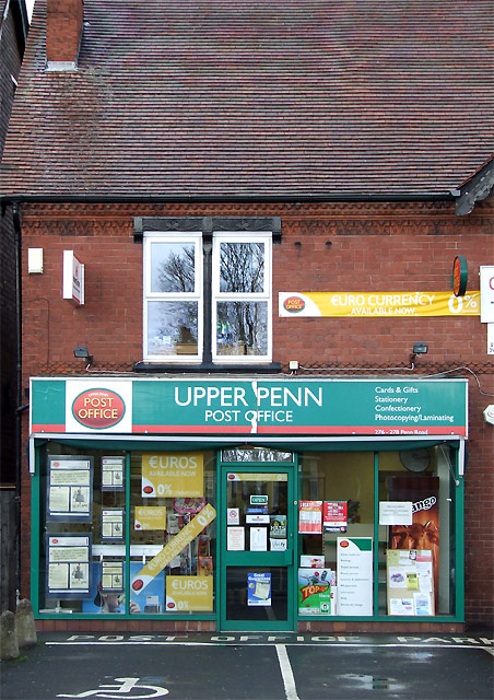 Upper Penn Post Office, Wolverhampton