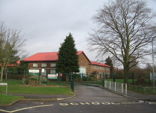 Entrance to Oakridge Junior & Infants