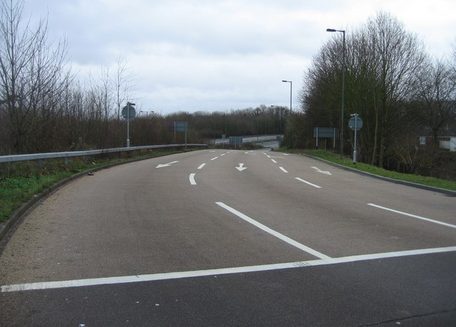 Ringway East exit ramp