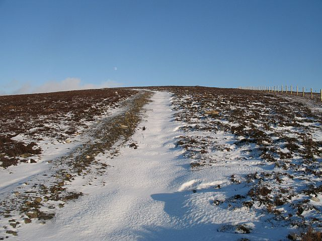 New road, Carn na Làir
