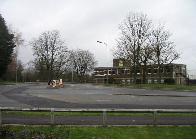 Junction of Faraday & Rutherford roads