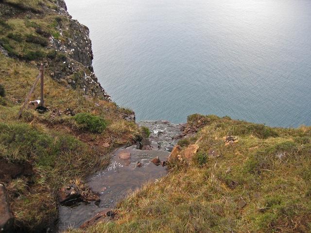 Above the waterfall at Guala Mhor