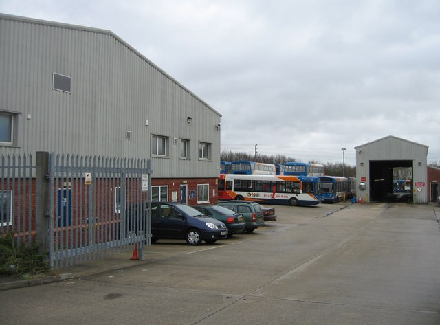 Stagecoach depot - Daneshill Estate
