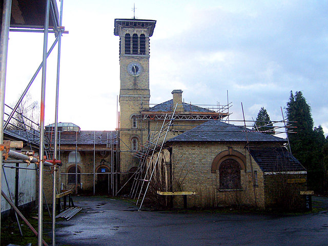 Leybourne Grange - stable block and clocktower