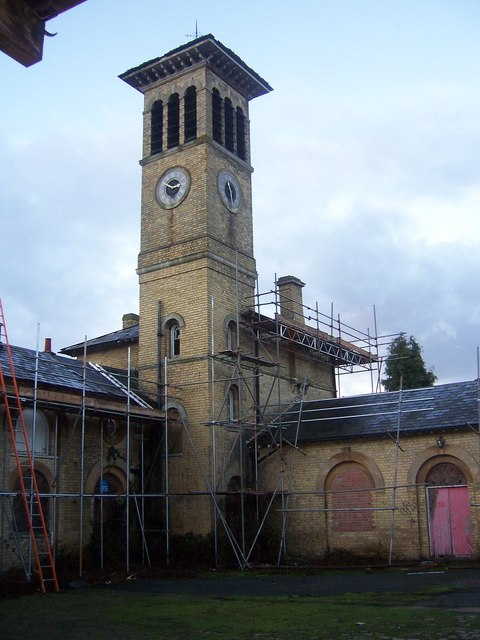 Leybourne Grange - clocktower
