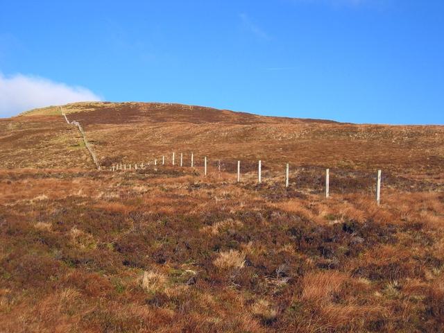 Fence on Ben Ettow