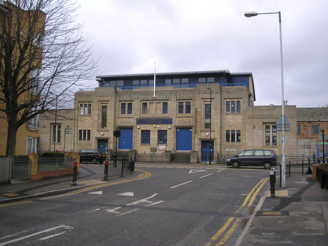 Public baths and community centre, Hackney Wick