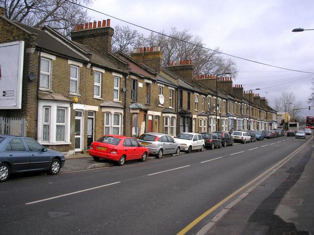 Houses in Eastway, Hackney Wick