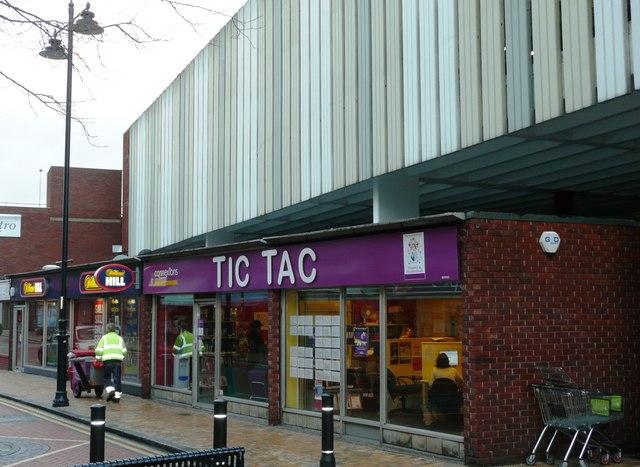 Ticky tacky area of Maidenhead?