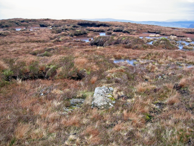 Peat hags on Scoval