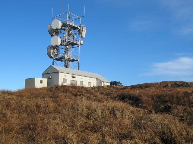 Telecom mast on Scoval