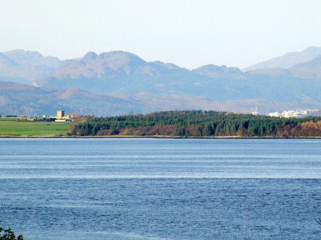Rosneath and the Firth of Clyde