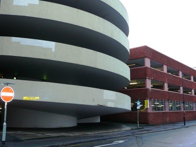 Nicholson Centre car park