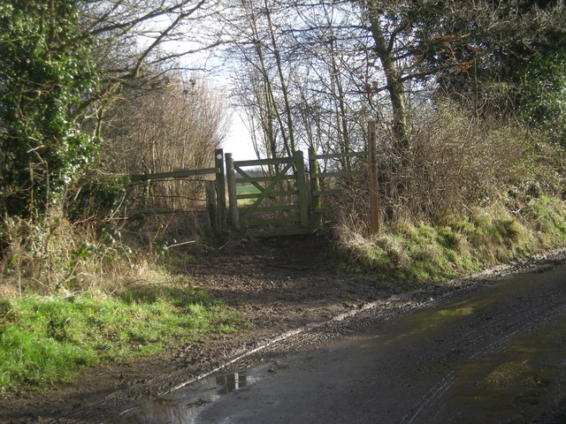 Bridleway near Adcote Mill