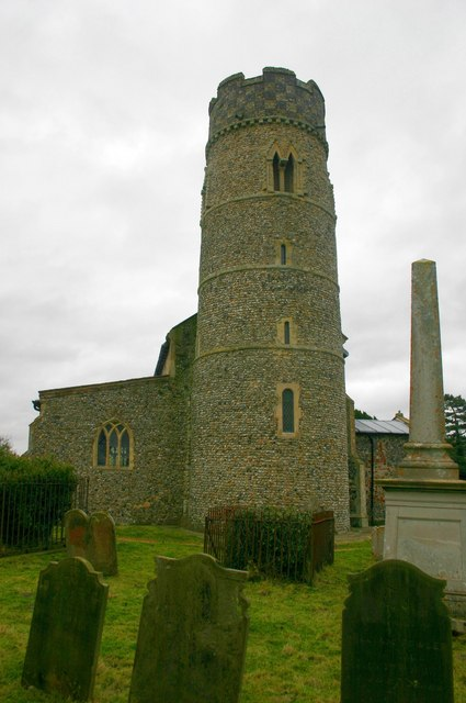 The tower of St. Mary's Church, Haddiscoe