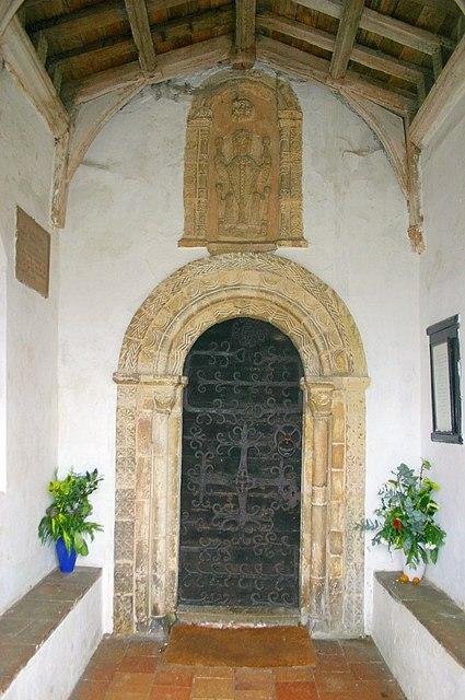 Doorway of St. Mary's Church